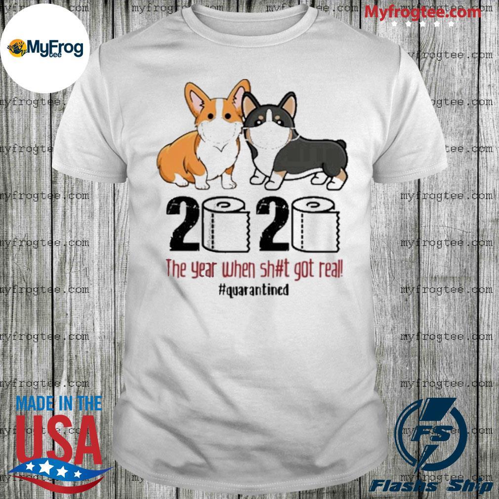 Corgis Quarantined 2020 Shirt