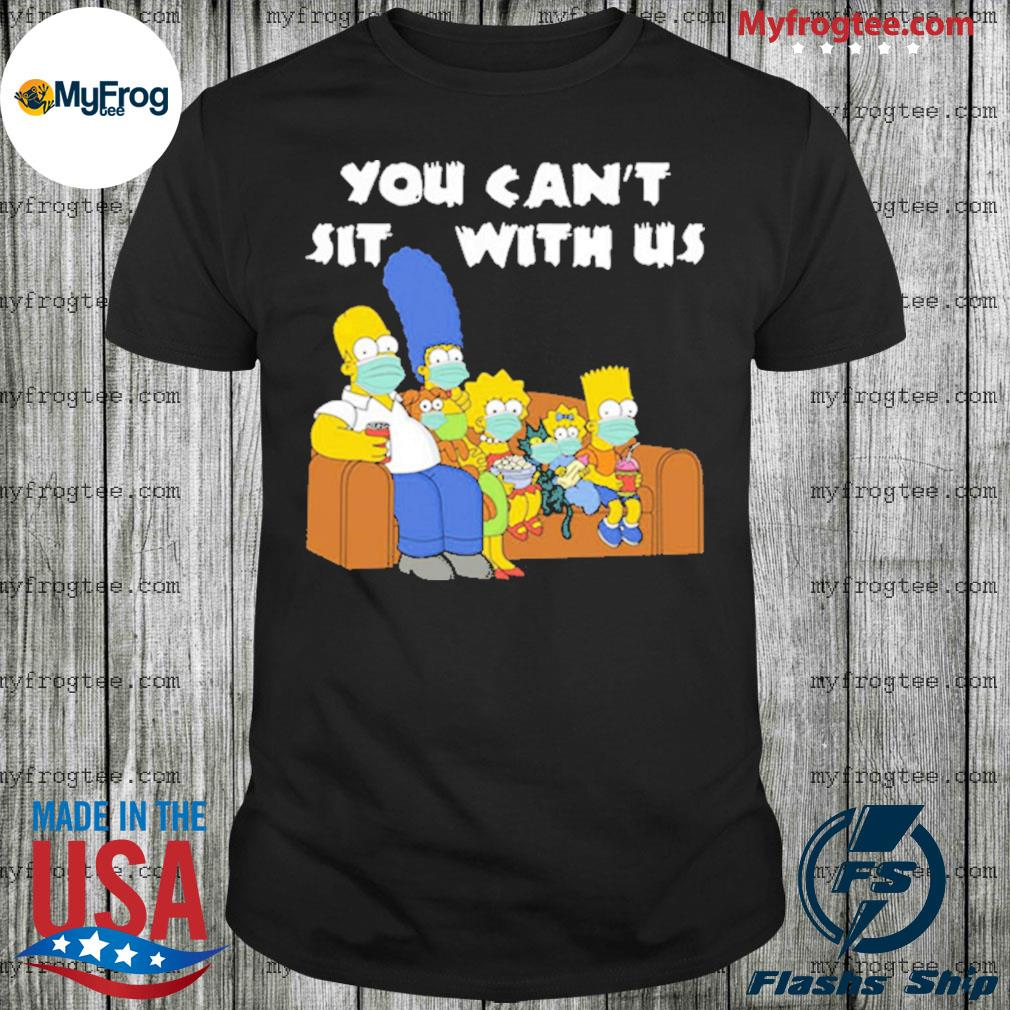 Corona the Simpson you can't sit with us shirt
