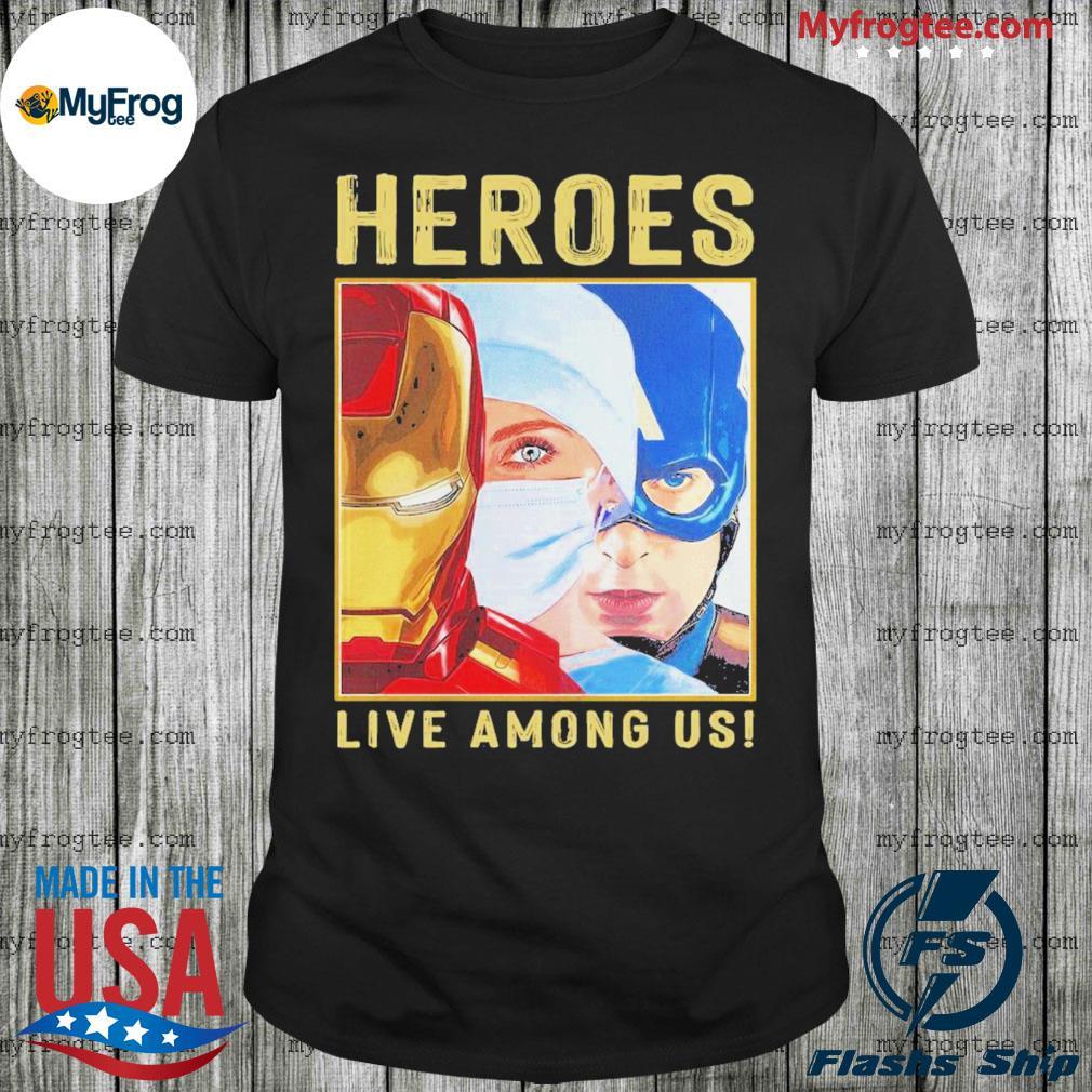 Doctor Heroes Live Among Us Shirt