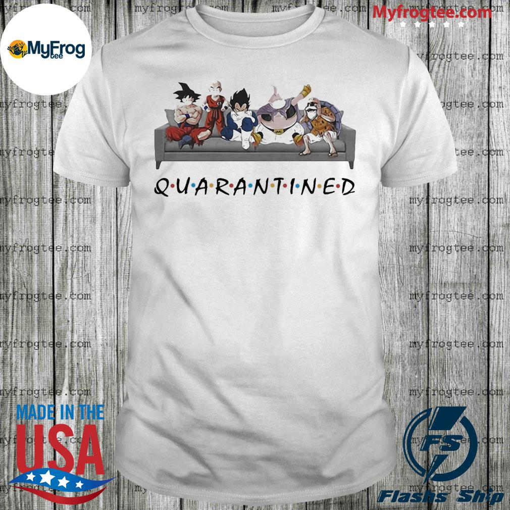 Dragon Ball Quarantined shirt
