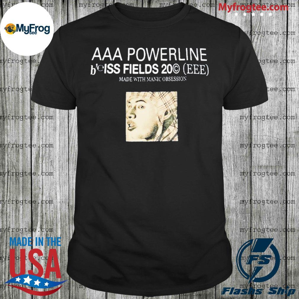 Ecco2k merch aaa powerline b'elss fields shirt
