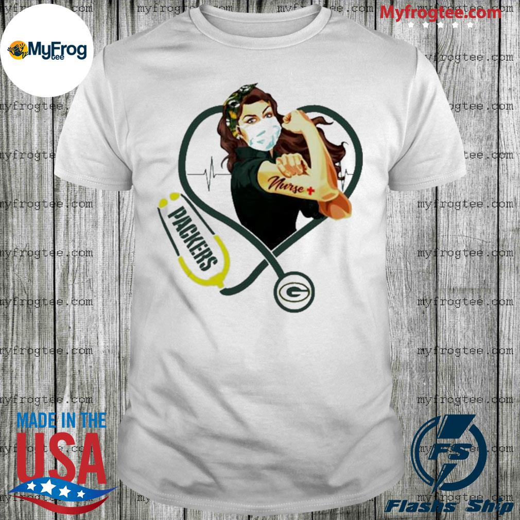 Green Bay Packers Strong nurse stethoscope shirt