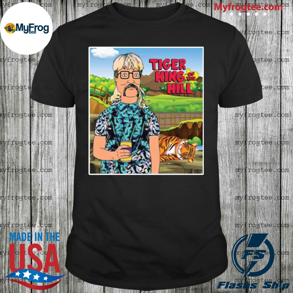 Hank Hill Joe Exotic tiger king of the hill shirt