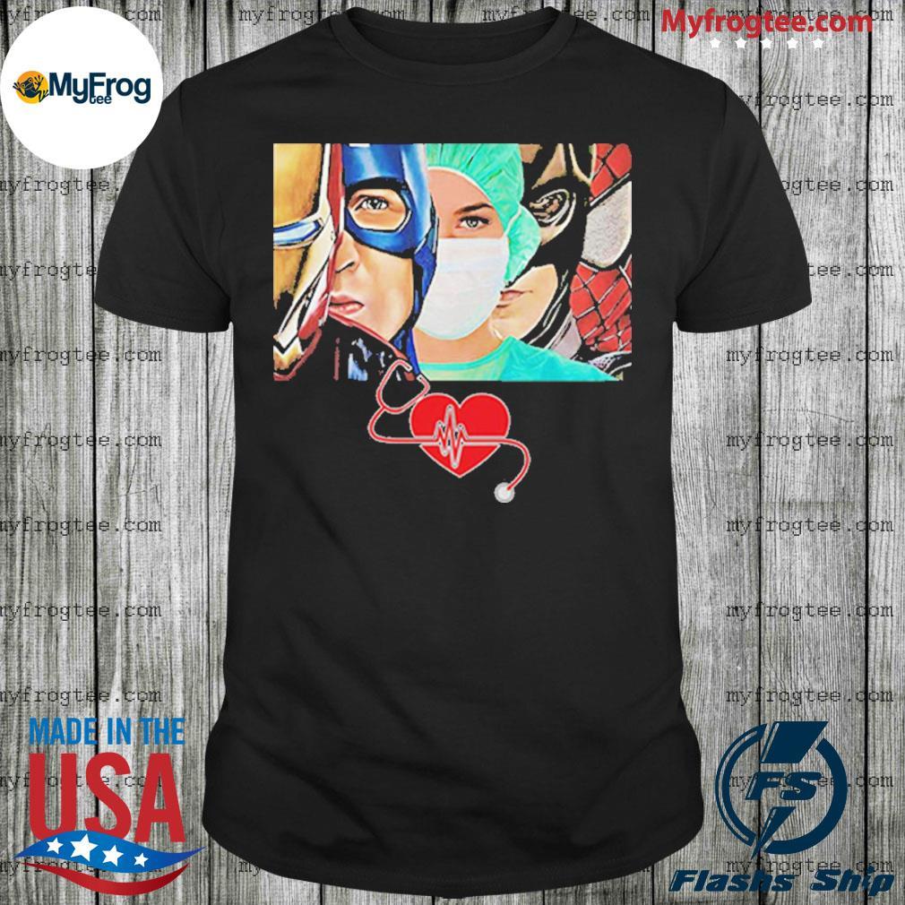 I'm Nurse Superheroes shirt