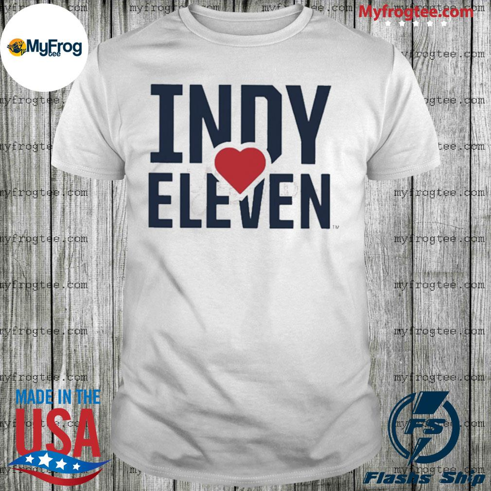 Indy Eleven Cares shirt