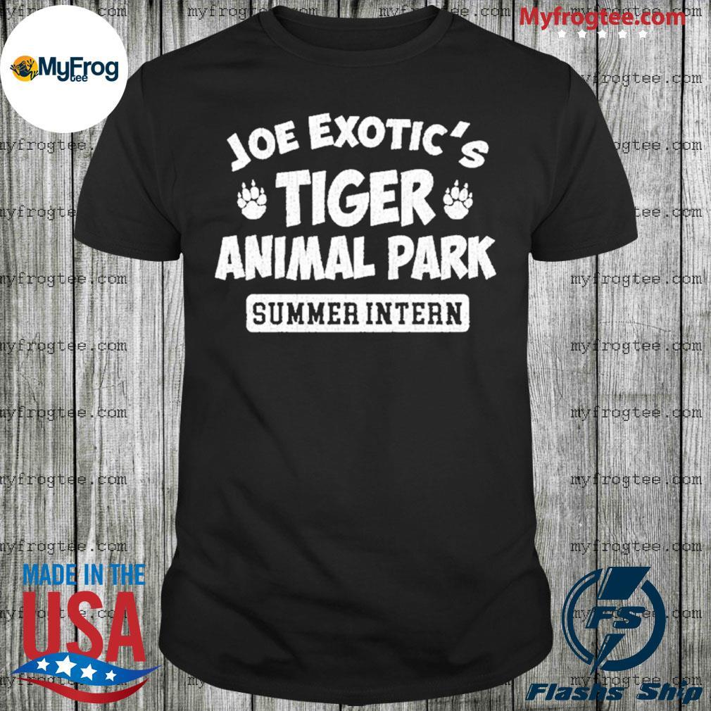 Joe Exotic's Tiger Animal Park shirt