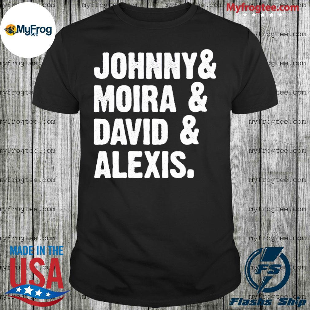 Johnny Moira David Alexis shirt