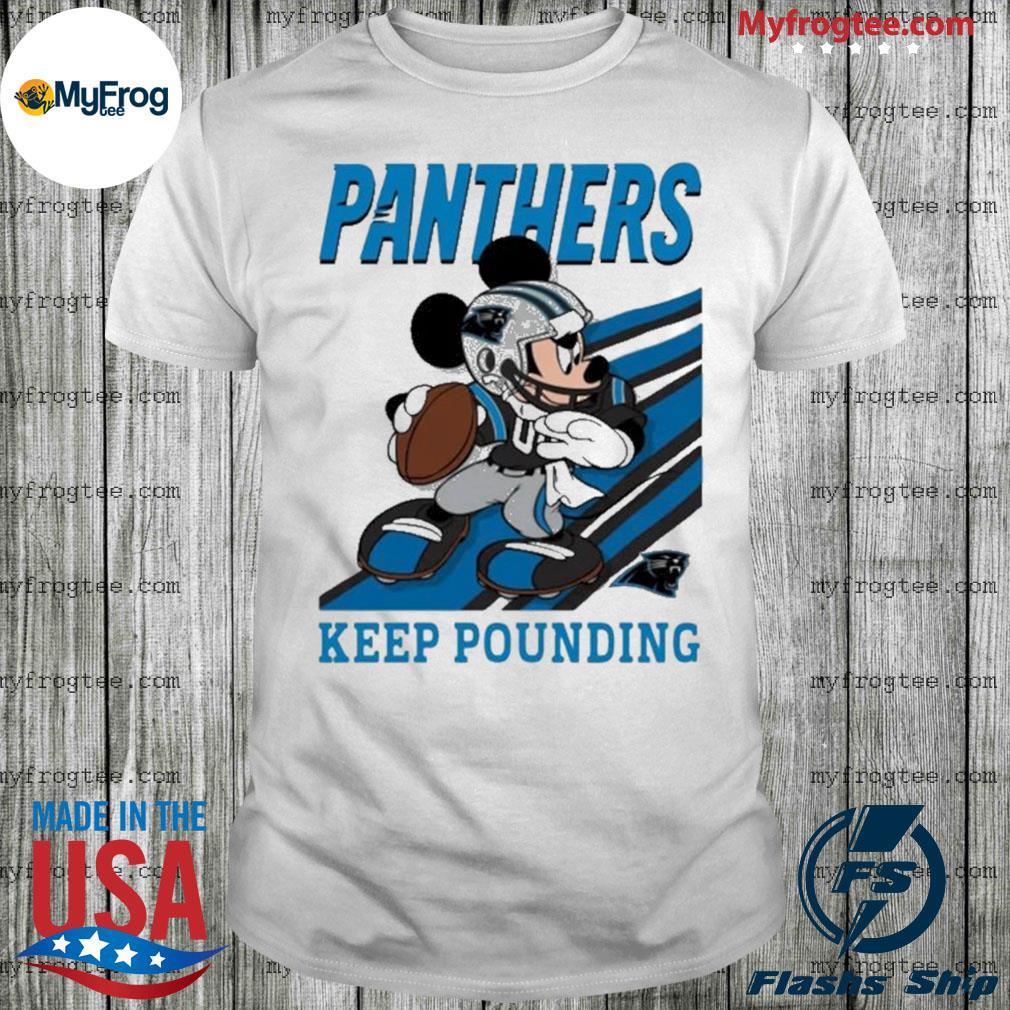 Keep Pounding Mickey Mouse Nfl Shirt