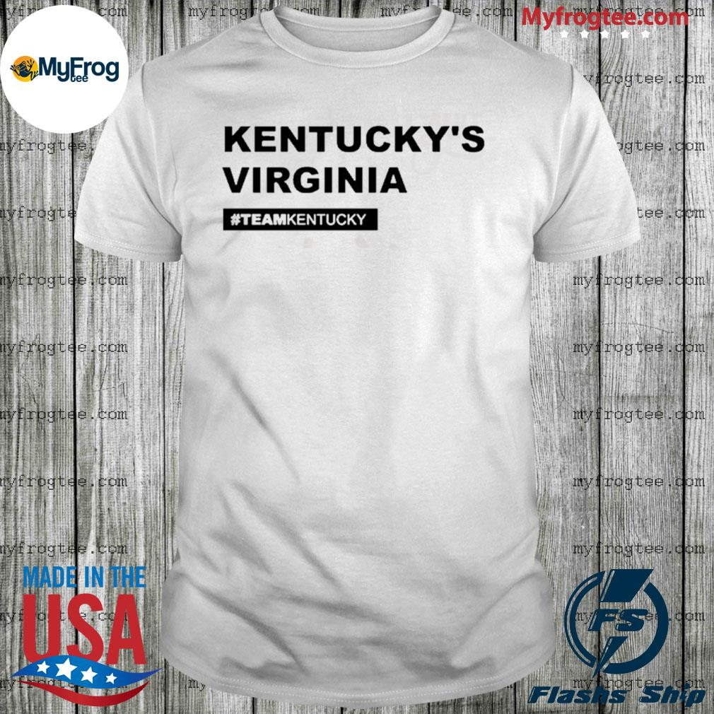 Kentucky's Virginia Andy Beshear shirt