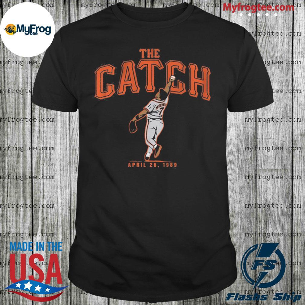 Kevin Mitchell Catch San Francisco Shirt