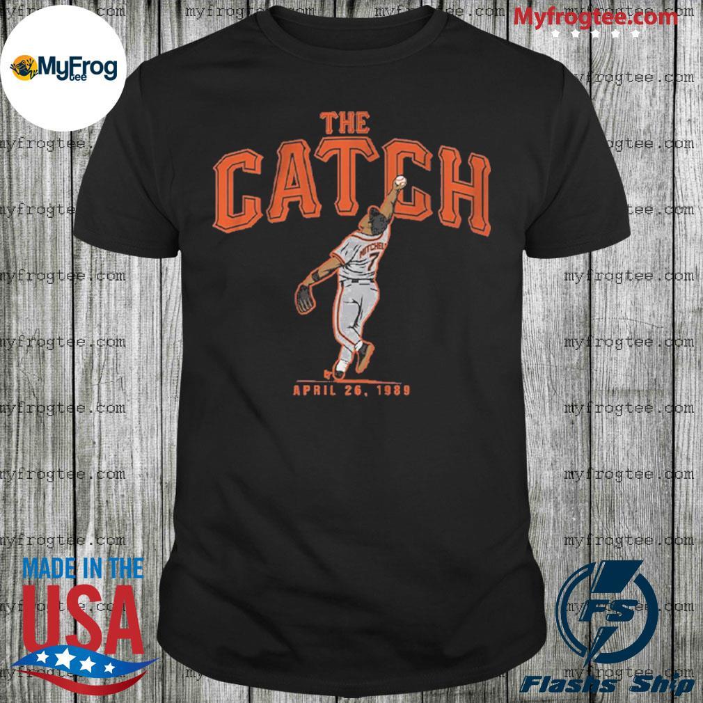 Kevin Mitchell Catch shirt
