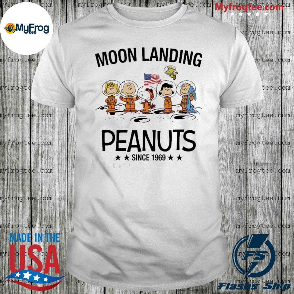 Moon landing Peanuts since 1969 shirt