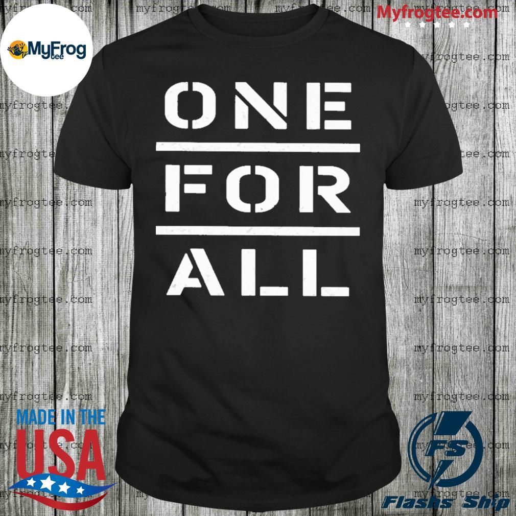 One for all shirt