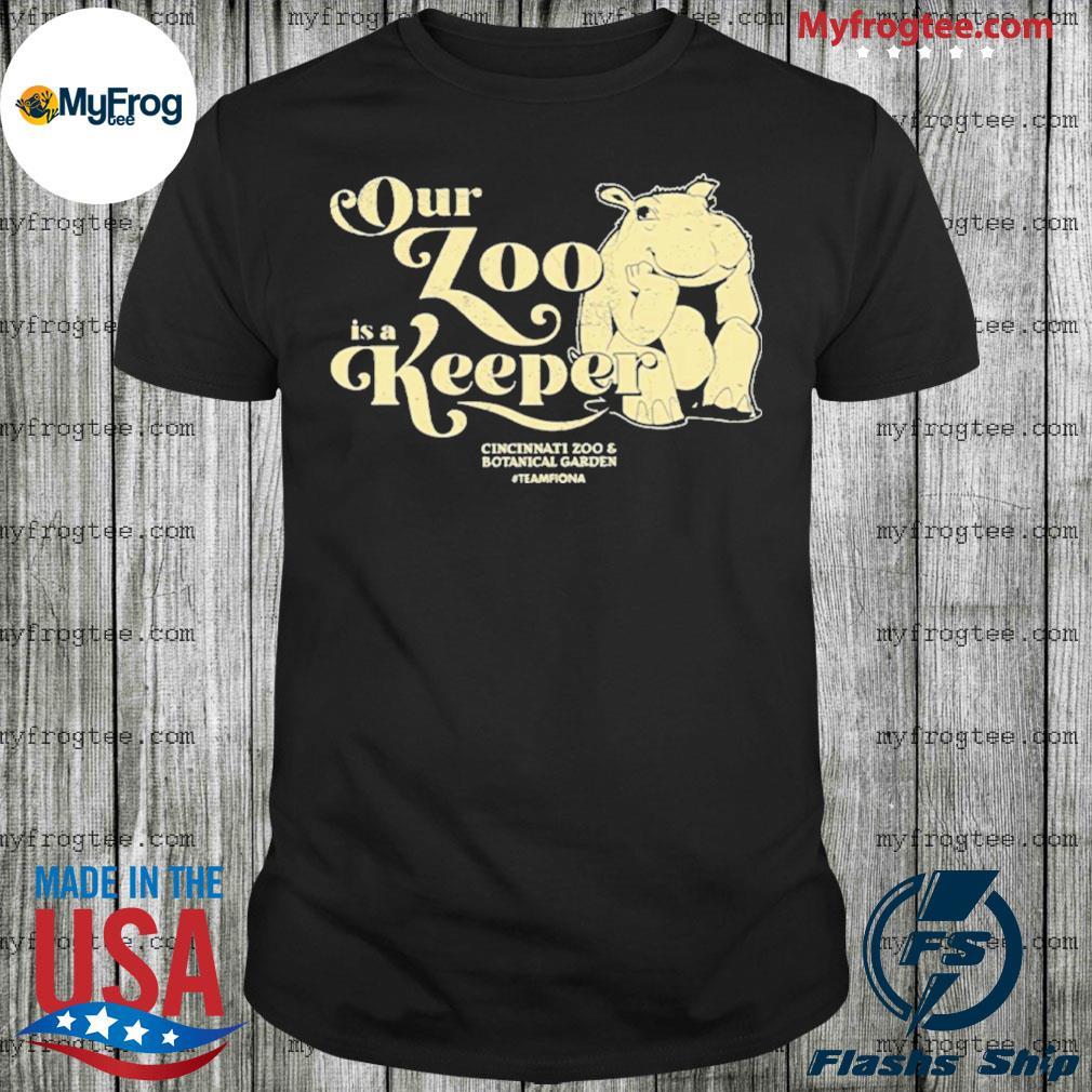 Our Zoo is a Keeper Cincinnati Zoo shirt