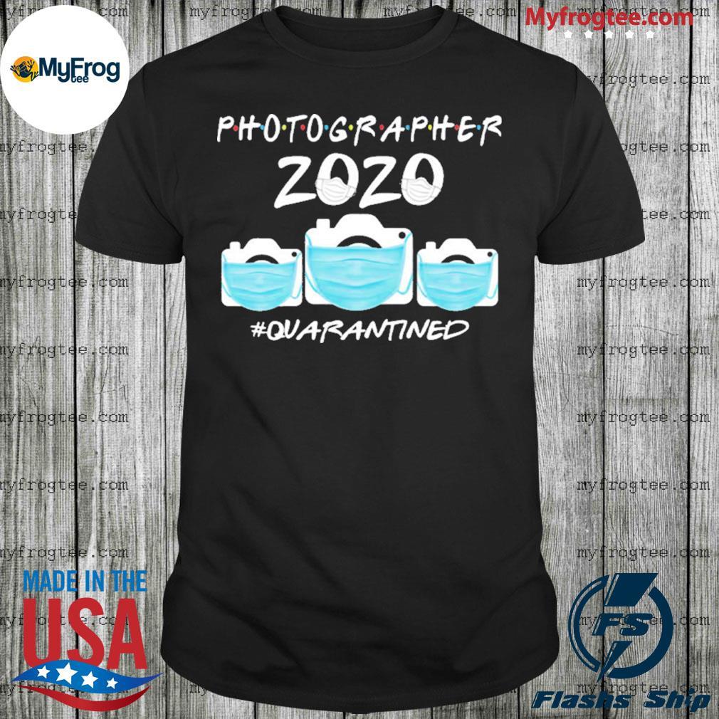 Photographer 2020 toilet paper quarantine shirt