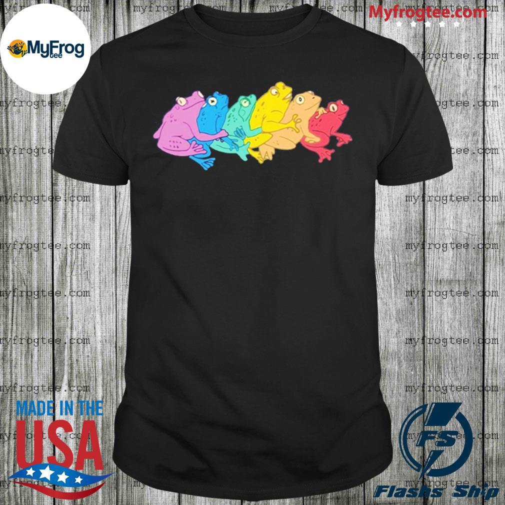 Rainbow Gay Frog shirt