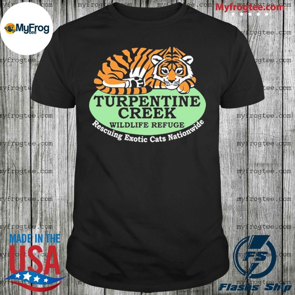 Rescuing Exotic Cats Nationwide 2020 Shirt