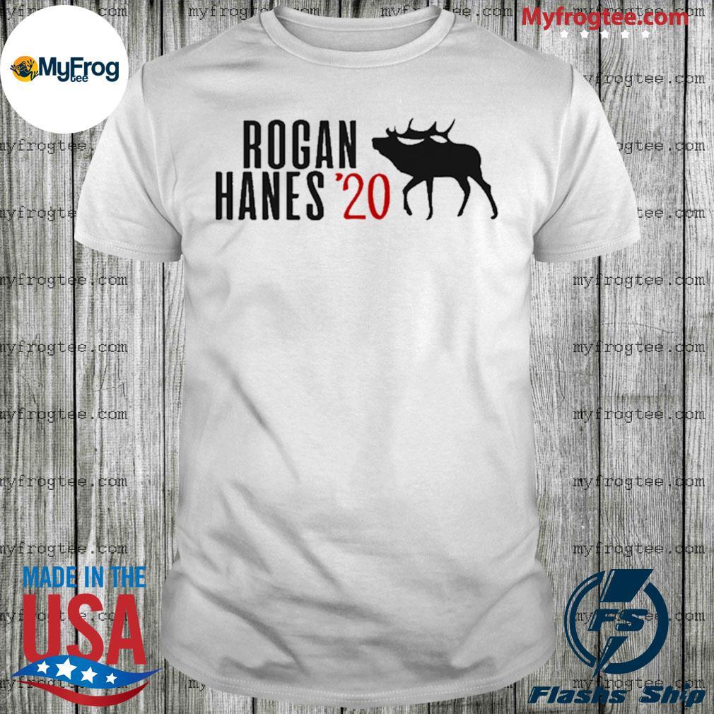 Rogan Hanes 2020 White shirt