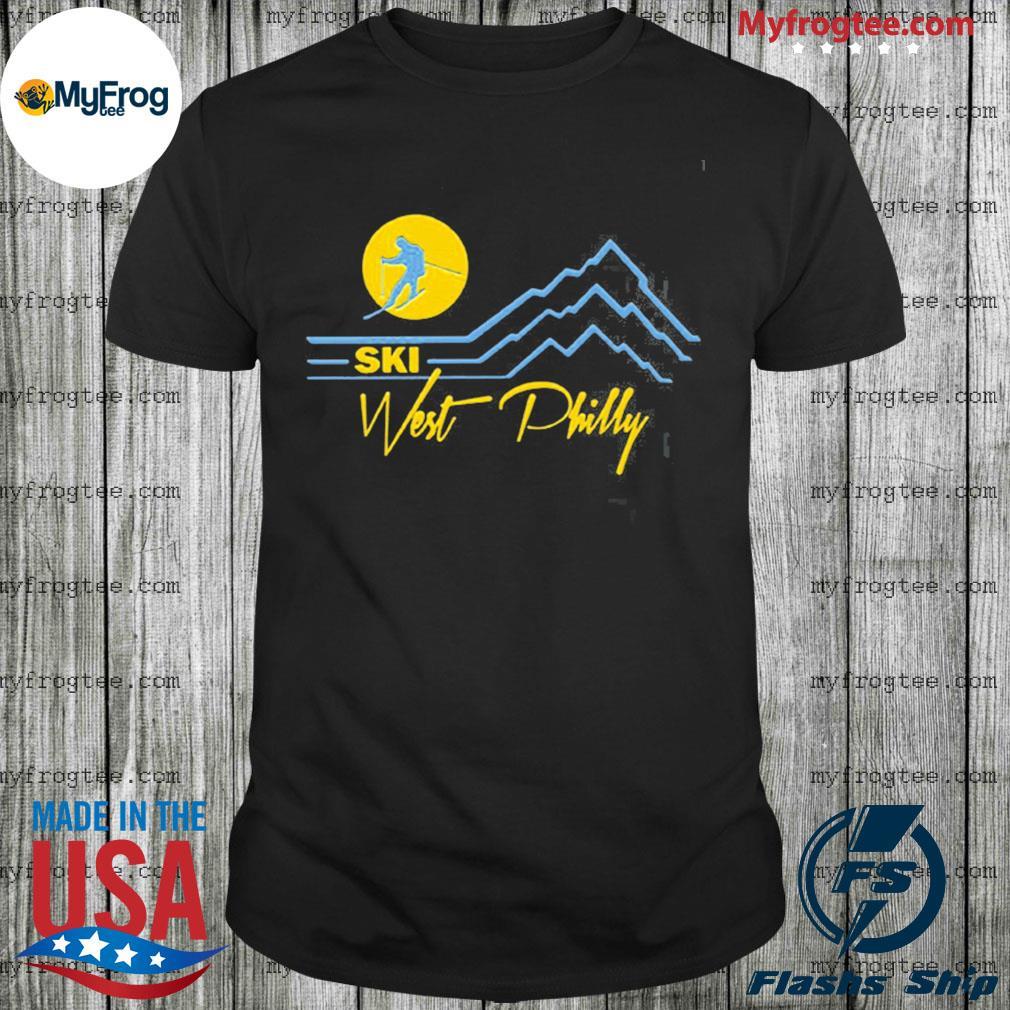Ski West Philly shirt
