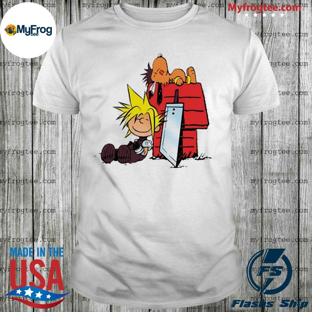 Snoopy and Charlie Brown Final Fantasy shirt