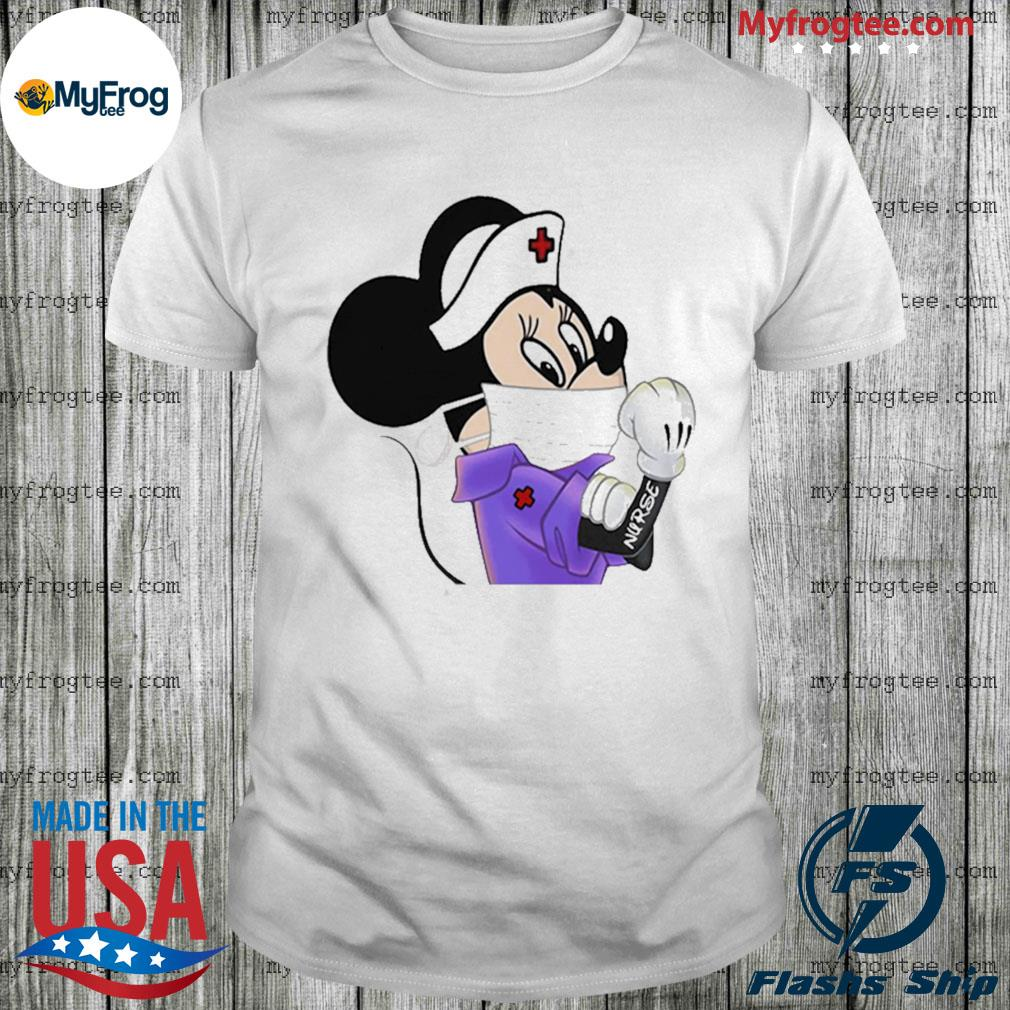 Strong Minnie Mouse Nurse shirt