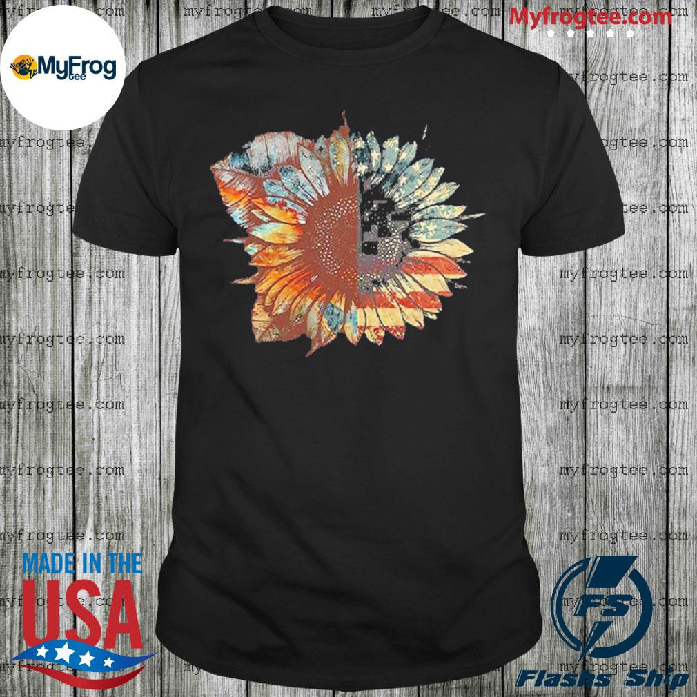 Sunflower American Flag Vintage shirt