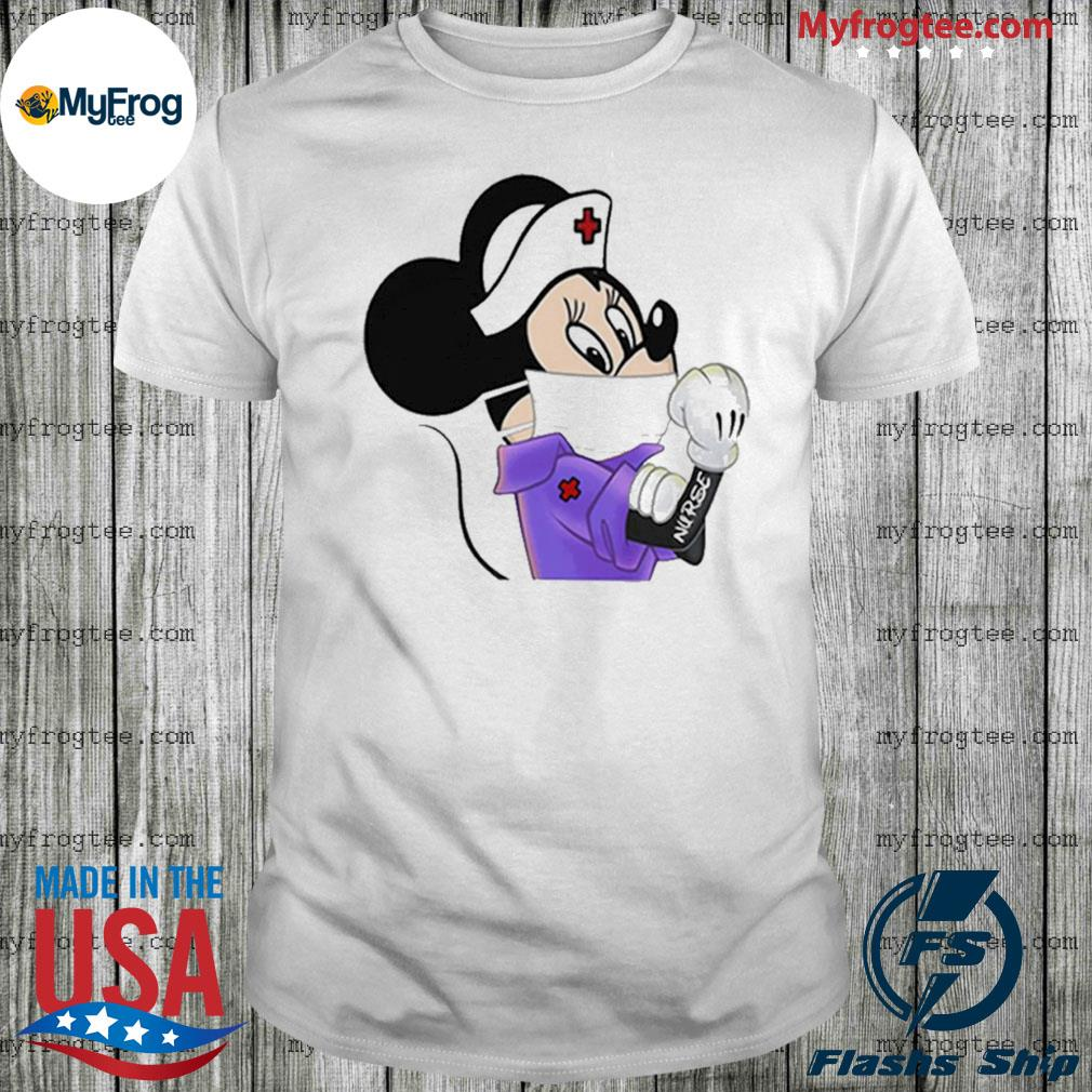 Thank For Strong 2020 Minnie Mouse Nurse shirt