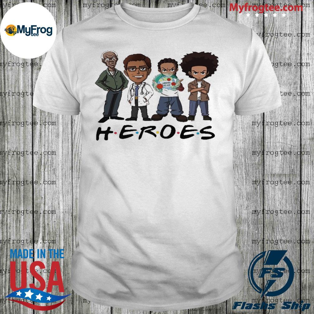 The Boondocks Heroes friend shirt