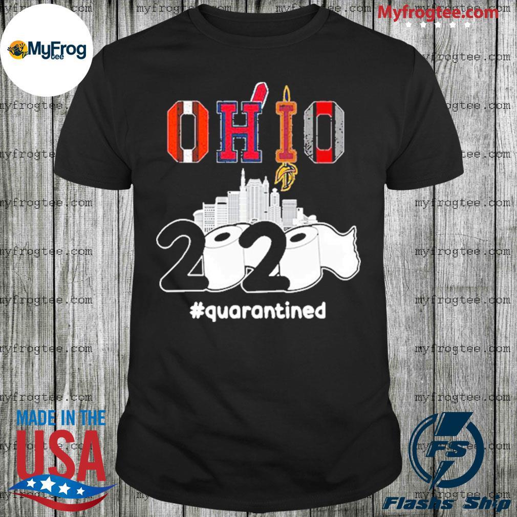 The Cleveland Cavaliers Ohio 2020 Quarantined Shirt