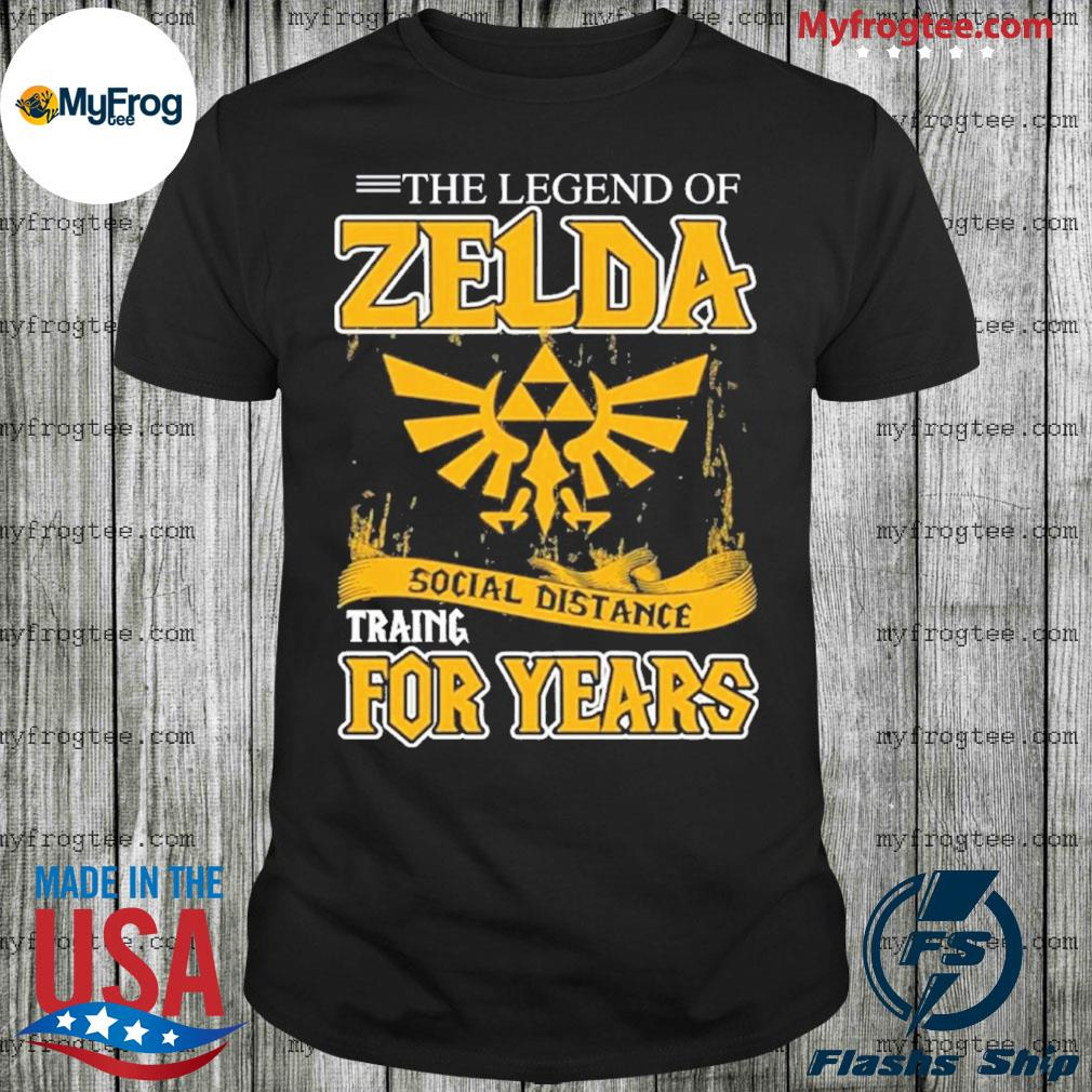 The legend of Zelda social distance shirt