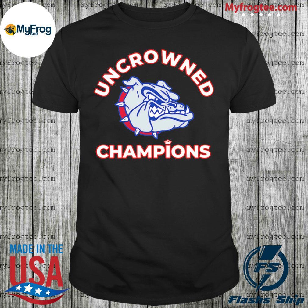 Uncrowned Champions Gonzaga Shirt