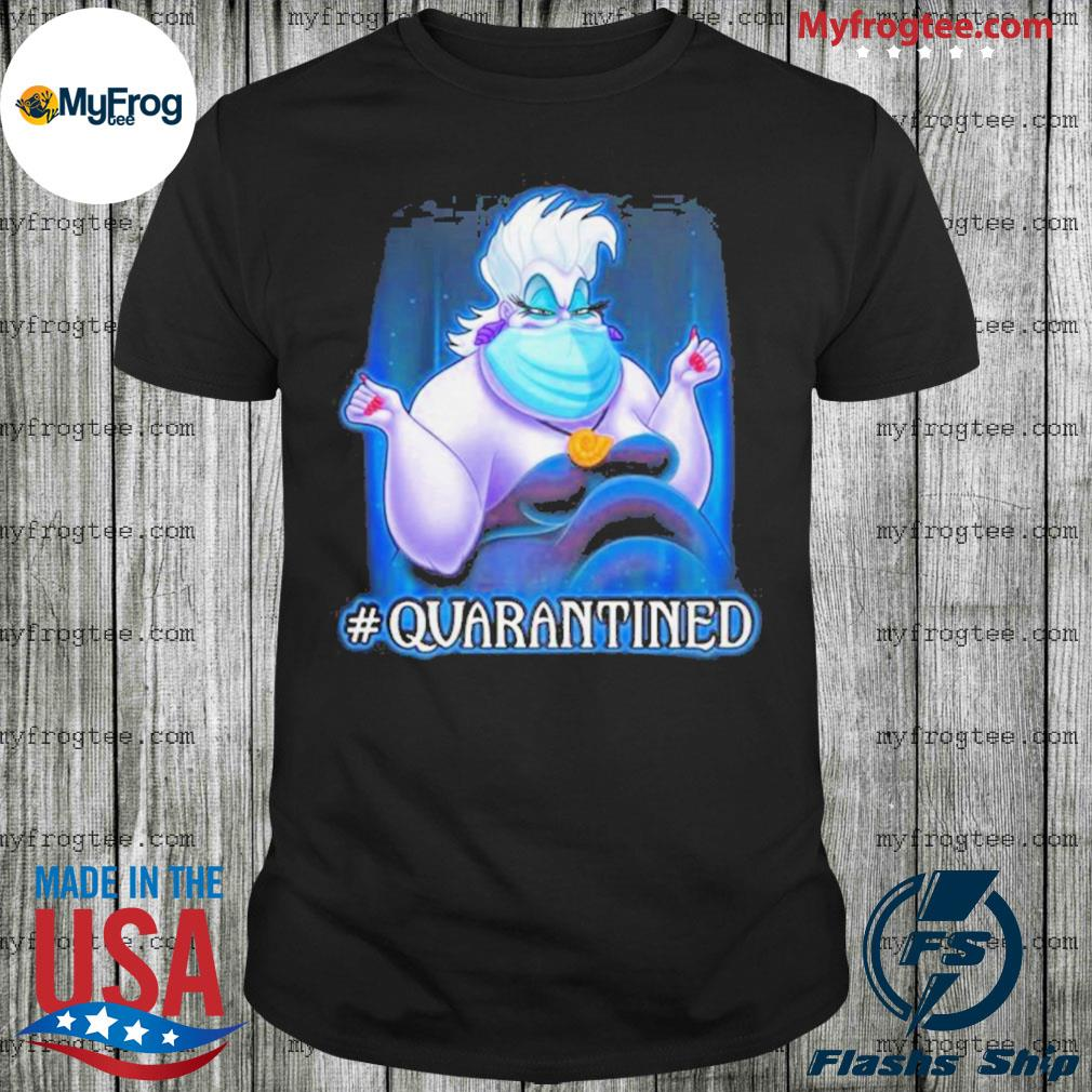 Ursula face mask quarantined shirt