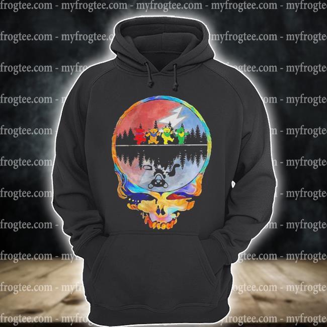 Grateful Dead Bear Skull Shirt hoodie
